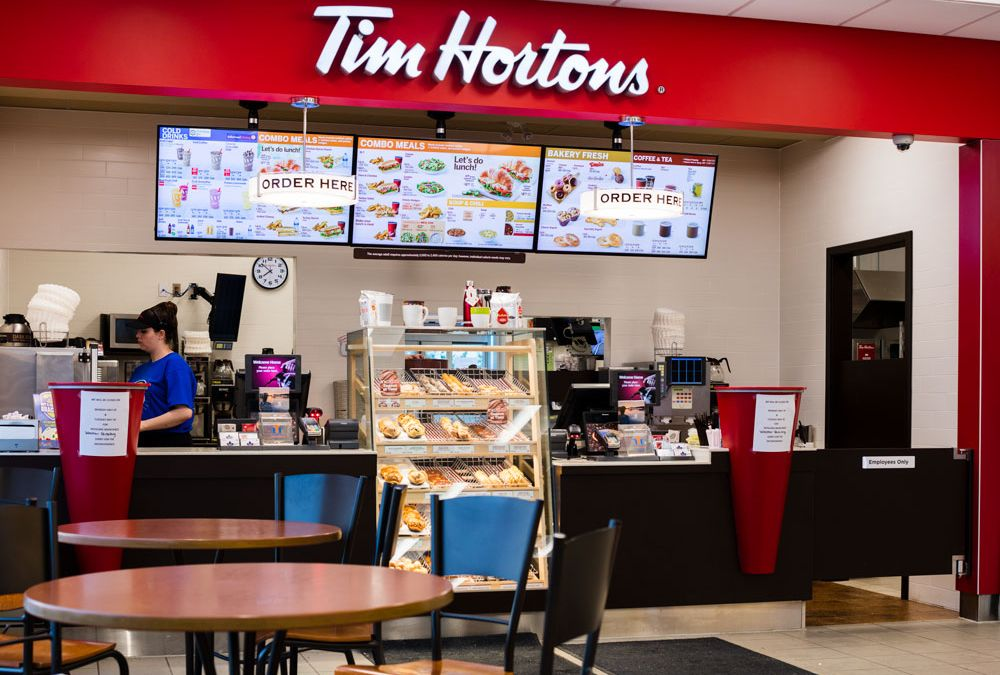 Tim Hortons Inside